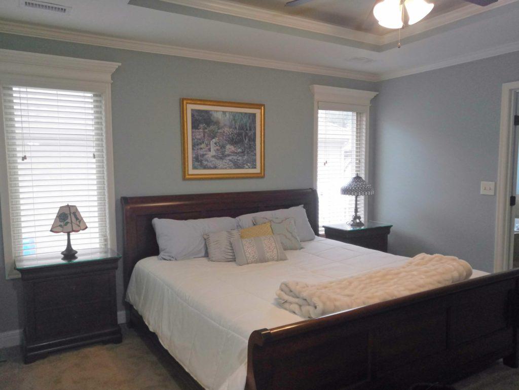 Painted Bedroom, Painting Bedroom