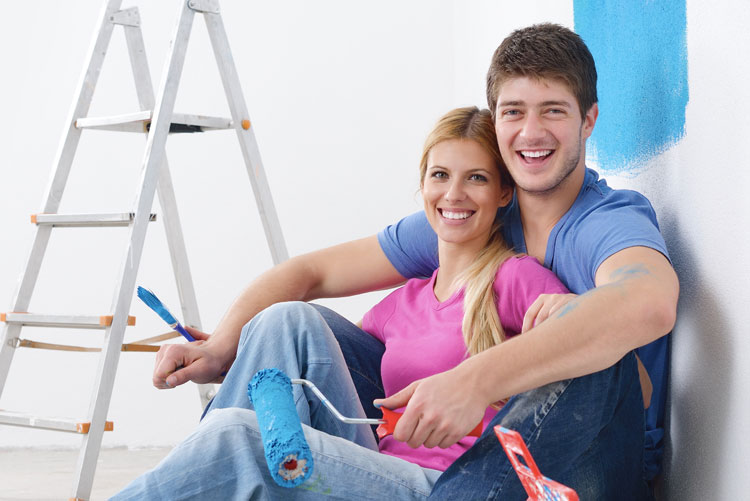 Interior paint, painting your walls, painted walls